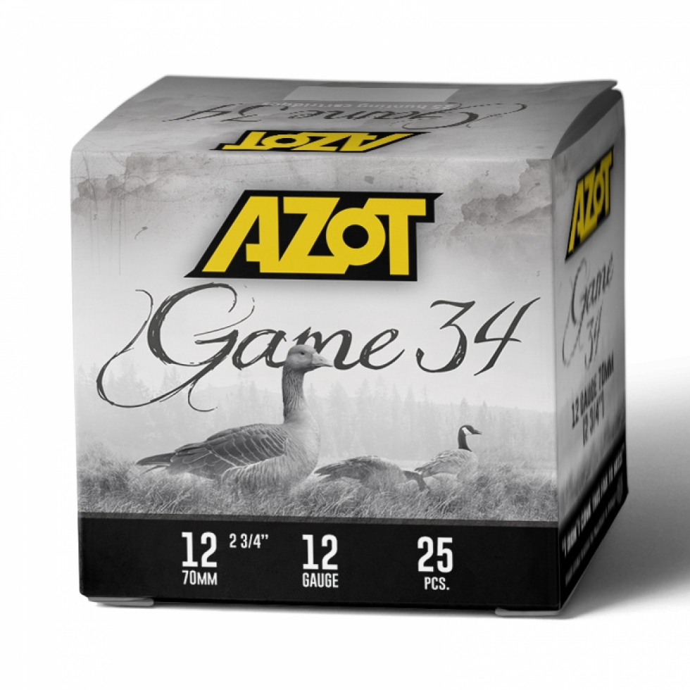 Azot Game 34, 12/70, №7 Б/К, 34гр.