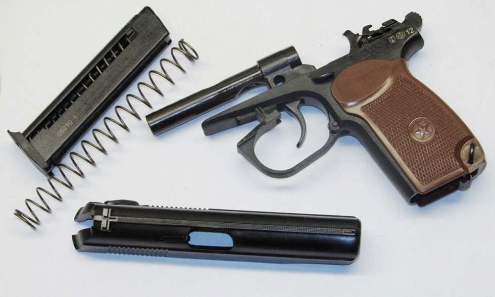 Пистолет травматический Mp-80-13T Cal.45 Rubber