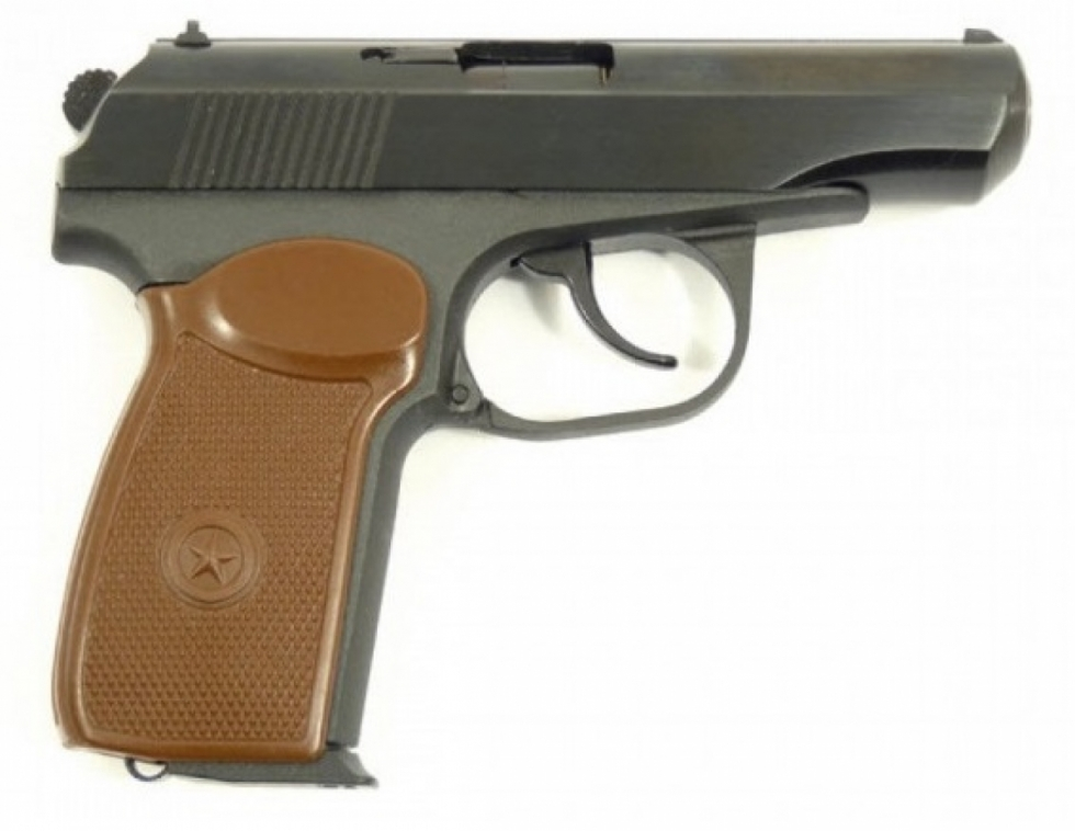 Пистолет ОООП МР-80-13Т к .45 Rubber