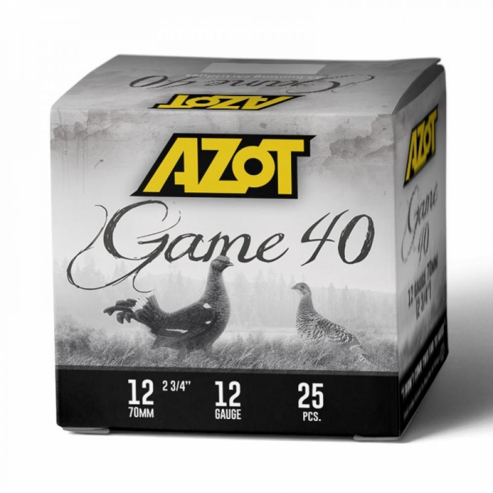 Azot Game 40, 12/70, №00, 40гр.