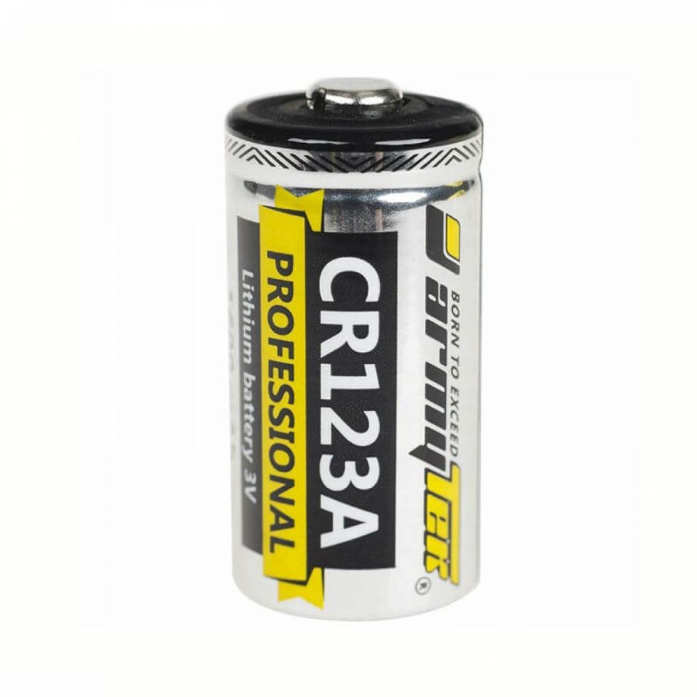 Батарейка ARMYTEK CR123A Lithium 1600 mAч