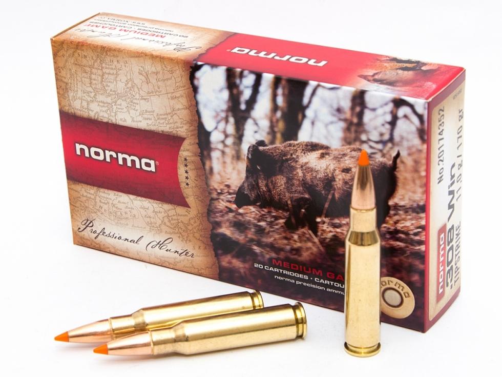 Norma, .308 Win., NEW ORYX, 180gr./10.7гр, 20 шт.
